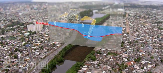 桥梁施工三维立体图