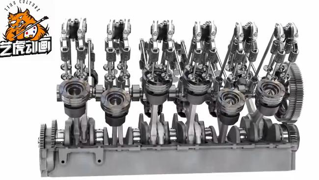 机械仿真产品演示动画