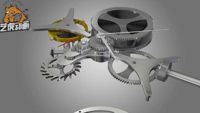 三维机械产品动画
